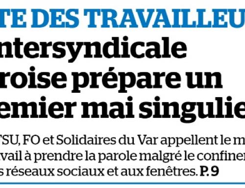 La Marseillaise : l'intersyndicale varoise unie pour le 1er mai